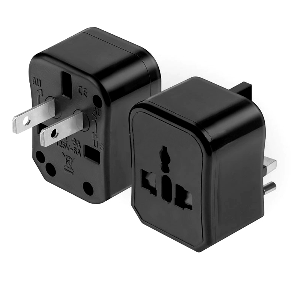 Three-in-one Global Travel Conversion 3 Sockets Plugs Universal Adapter Travel Abroad Converter Household Plugs USAUEUUK (14)