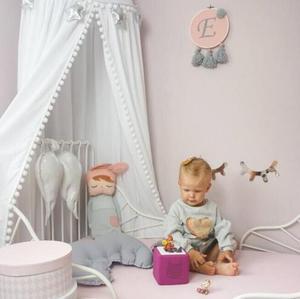 INS Детская комната Декор шары москитная сетка искусственный навес стеллаж палатка фотореквизит Болдуин 240 см