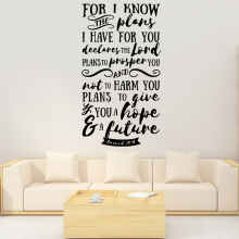 DIY Art English Quotes Home Decor Vinyl Wall Stickers Pvc Decals
