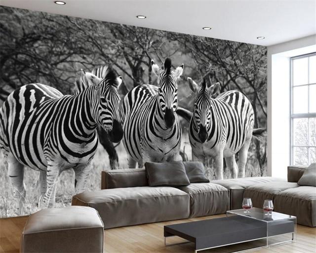 Muurschilderingen Voor Slaapkamer : Beibehang aangepaste behang woonkamer slaapkamer muurschilderingen