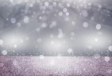 Laeacco Shiny Silver Polka Dots Light Bokeh Love Party Decor Child Photography Backdrops Photo Background Photocall Photo Studio