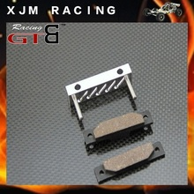 GTB Racing alloy brake pad set  for 1/5 rc car hpi baja 5b/5t/5sc parts