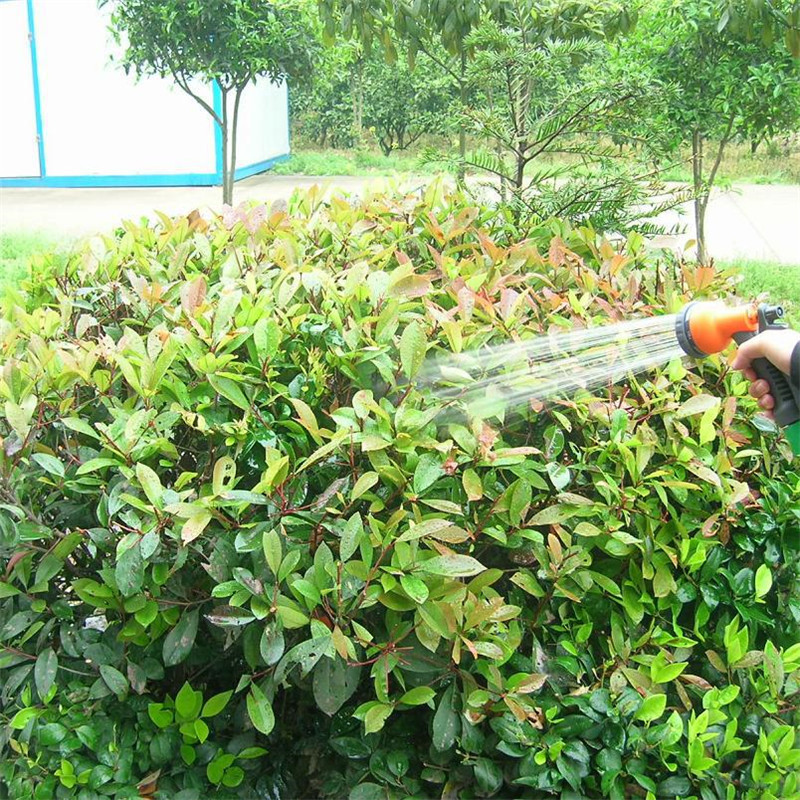 8 Pattern Garden Water Gun Hose Nozzle Mutifunctional Household Car Washing Yard Water Sprayer Pipe Tube Nozzle Sprinkle Tools