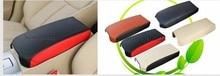 Автомобиль Стайлинг для Nissan Altima Teana 2013-2018 кожа автомобиля подлокотник Pad обложки центральной консоли подлокотник сиденья авто хранения коробка Протек