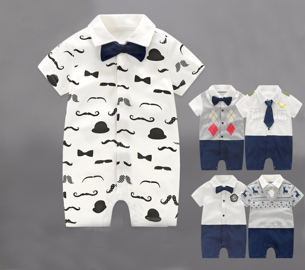 Summer Baby Rompers Children Clothing Set Newborn Baby Clothes Cotton Baby Rompers Short Sleeve Baby Girl Clothing Jumpsuits strip baby rompers long sleeve baby boy clothing jumpsuits children autumn clothing set newborn baby clothes cotton baby rompers