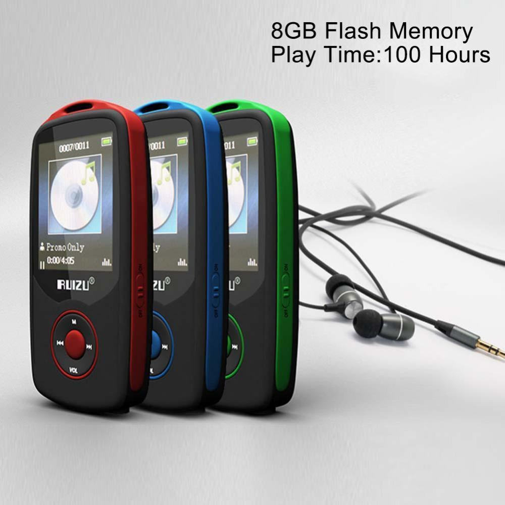 Sport Music MP3 Player Bluetooth V2.0 1.8 Inch TFT LCD Screen High Quality Lossless Recorder Walkman FM radio