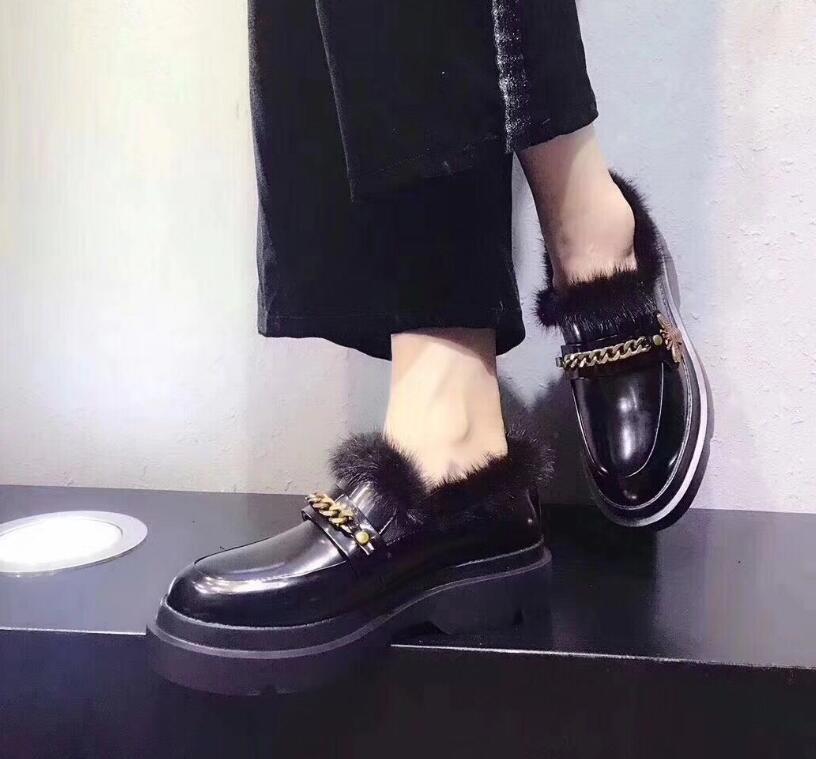 Caliente Moda Bailarina Redonda Punta Genuino Kaeve Coreano Zapatos Mujer Pisos Mocasines De Negro Cuero qw5Z5d