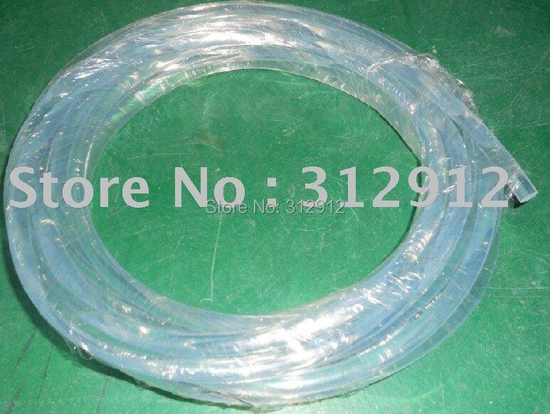 Plastic side glow light optic fibre cable;100m long each roll;5.0mm diameter