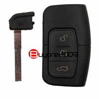 New Smart Remote Car Key Shell Case Fob Covers 3 Button For Ford Focus Mondeo Galaxy