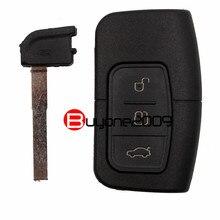 Смарт Дистанционного Ключа Автомобиля Дело Shell Fob 3 Кнопка для Ford Focus Mondeo Galaxy S-Max