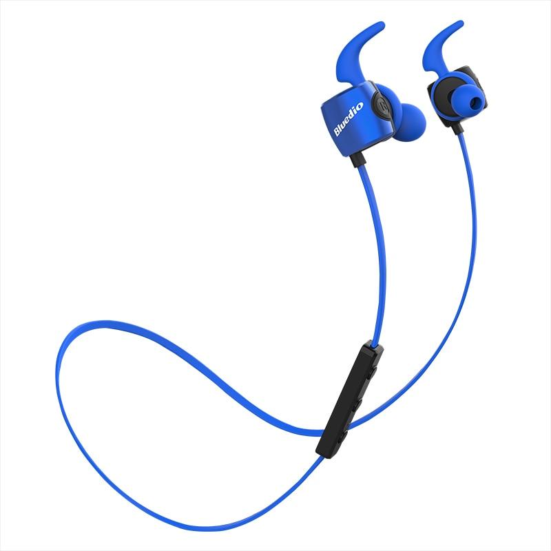 Original Bluedio TE Sports wireless Bluetooth in-ear eheadphone Built-in Mic Sweat proof earphone with bass bluedio te red