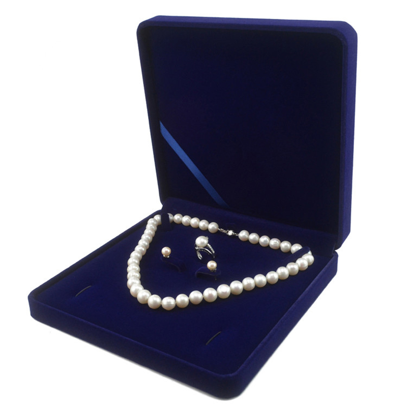 1PC Unisex Ring Earring Necklace Set Jewelry Packaging Women Gift Jewelry Box SZ
