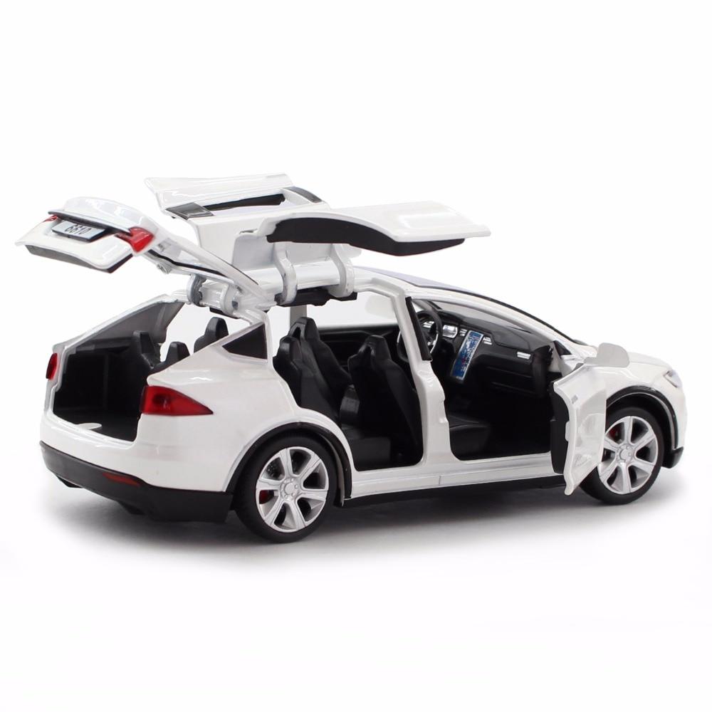 Νέο 1:32 J & CLIFE Tesla Μοντέλο Μοντέλο - Οχήματα παιχνιδιών - Φωτογραφία 4