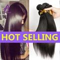 Brazilian Virgin Hair straight 4 Bundles brazillian straight hair Weave Bundles Unprocessed Human Hair Brazilian Straight Hair