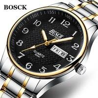 Relogio Masculino 2019 Мужские часы Роскошные полностью стальные часы Модные кварцевые наручные часы водонепроницаемые мужские часы Relojes Hombre