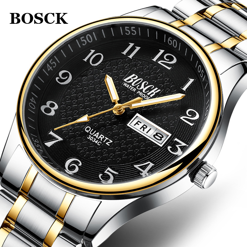 Relogio Masculino 2020 Men's Watch Luxury Full Steel Watches Fashion Quartz Wristwatch Waterproof Date Male Clock Relojes Hombre
