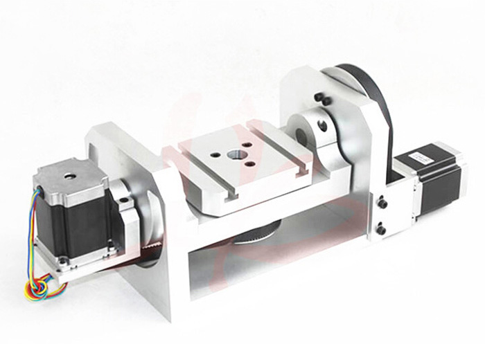 Russia no tax 4th aixs / 5th axis / A aixs rotation axis with table for cnc engraving machine cnc lathe parts cnc 4th axis 5th axis a aixs rotary axis with chuck for cnc engraving machine
