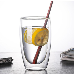 Image 5 - Heat resistant Double Wall Glass Cup Beer Coffee Cup Handmade Creative Beer Mug Tea Cup Whiskey Glass Cups Drinkware