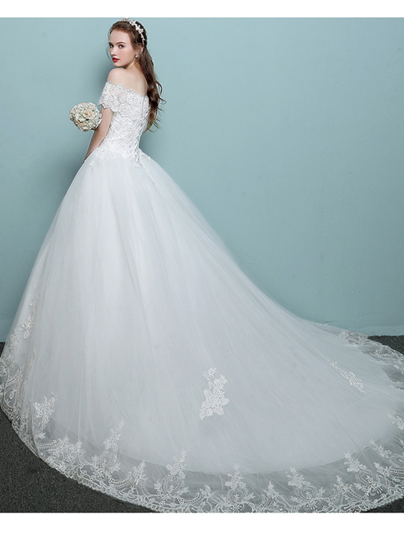 Old Fashioned Wedding Dress Short Sleeves Frieze - All Wedding ...