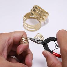 2pcs/lot Finger Ring Opening Helper Brass Jump Ring Open Close Tools For Jewelry Making Findings DIY Tool Accessories цена и фото