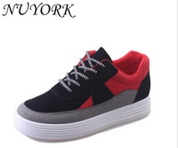 New Listing Hot Sales Spring And Autumn Breathable Suede Sports Shoes Female Running Shoes