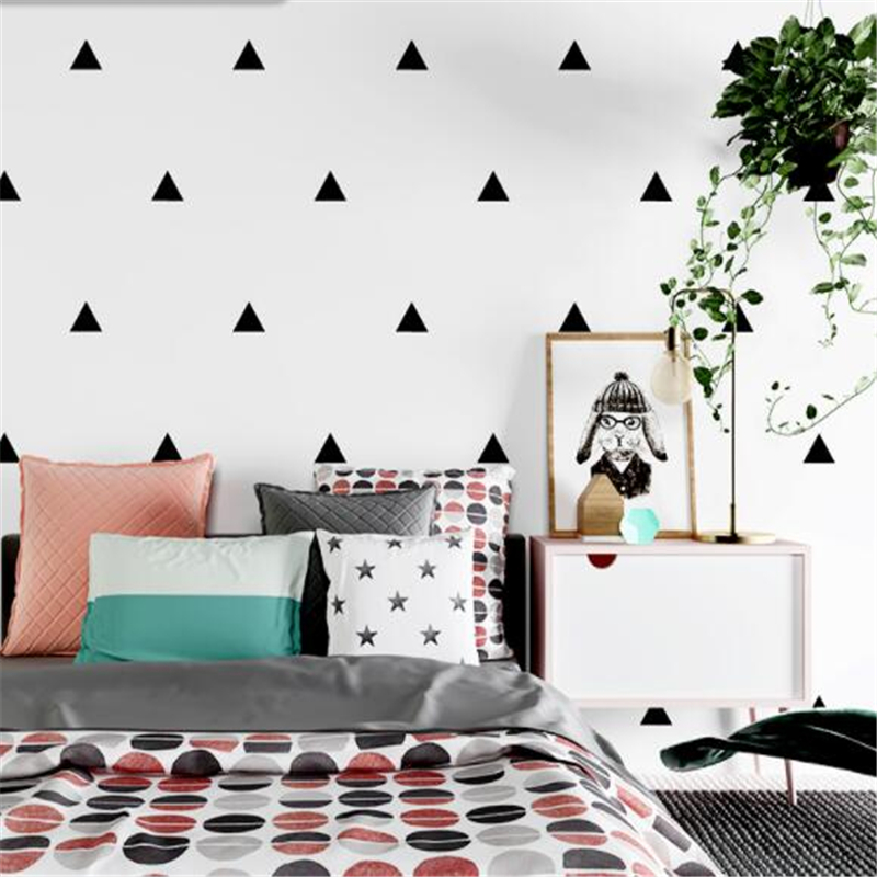 beibehang Nordic style wallpaper minimalist geometry black and white lattice living room bedroom non-woven background wall paper beibehang non woven pink love printed wallpaper roll striped design wall paper for kid room girls minimalist home decoration