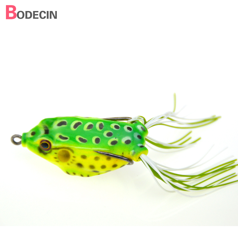 1PC Soft Plastic Tube Lures Japan Treble Hooks China Lure Bait For Fishing 6cm 14G Frog Tackle Swim Baits Artificial Topwater
