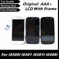 For Samsung Galaxy S3 Neo i9300i i9301 i9301i i9308i Phone Replacement LCD 100% Test Good LCD Screen Digitizer with Frame