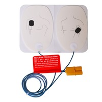 5Pairs AED Training Electrodes ECG Defibrillation Electrode Pad Use With AED Machine For Emergency Skills Training