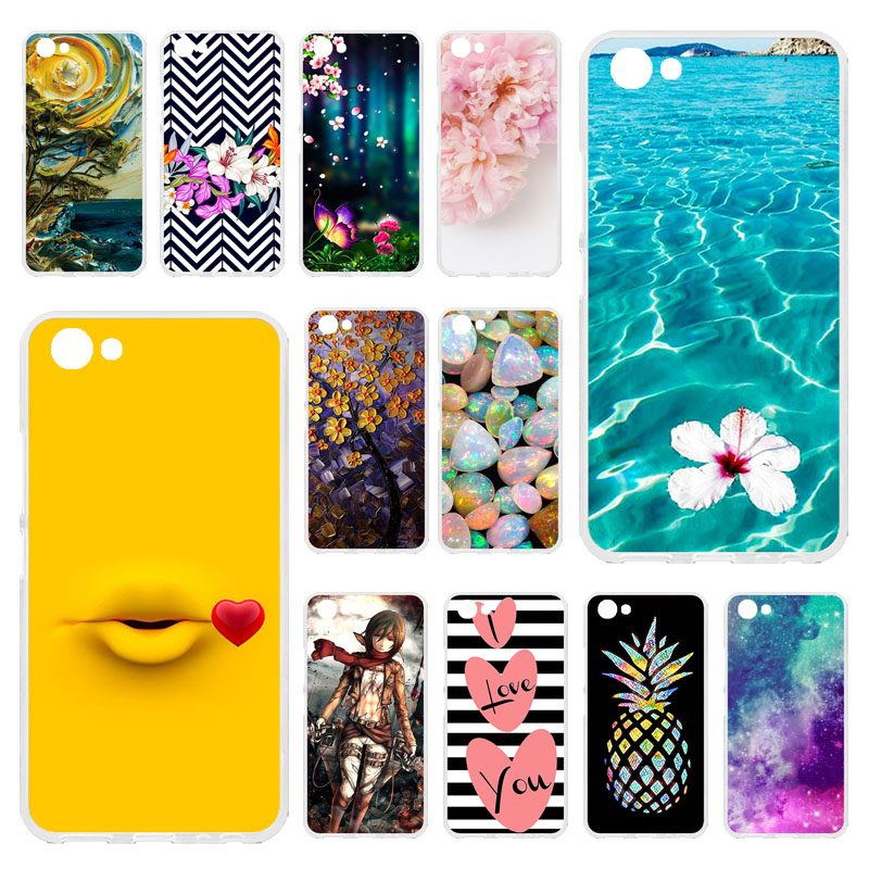 TAOYUNXI Soft Case For Vivo Y81 Case Vivo Y81 Case Silicone Painted Back Cover Phone Case For Vivo Y81 Y 81 VivoY81 Bags 6.22