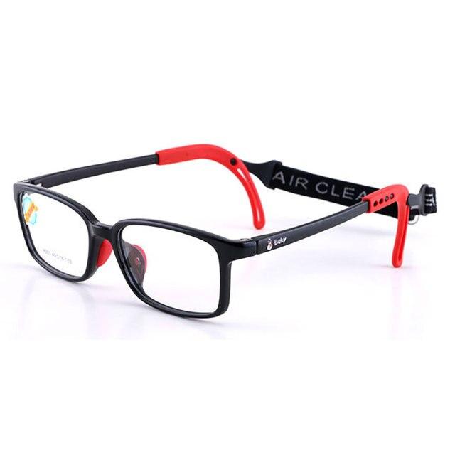 8537 çocuk gözlük çerçevesi erkek ve kız çocuklar için gözlük çerçeve esnek kaliteli gözlük koruma ve görüş düzeltme