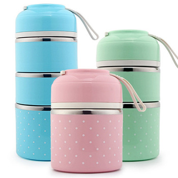 Thermal Thermos Lunch Box Japanese Stainless Steel Bento Box For Food Soup Container Storage Portable Picnic Camping With Bag Термос