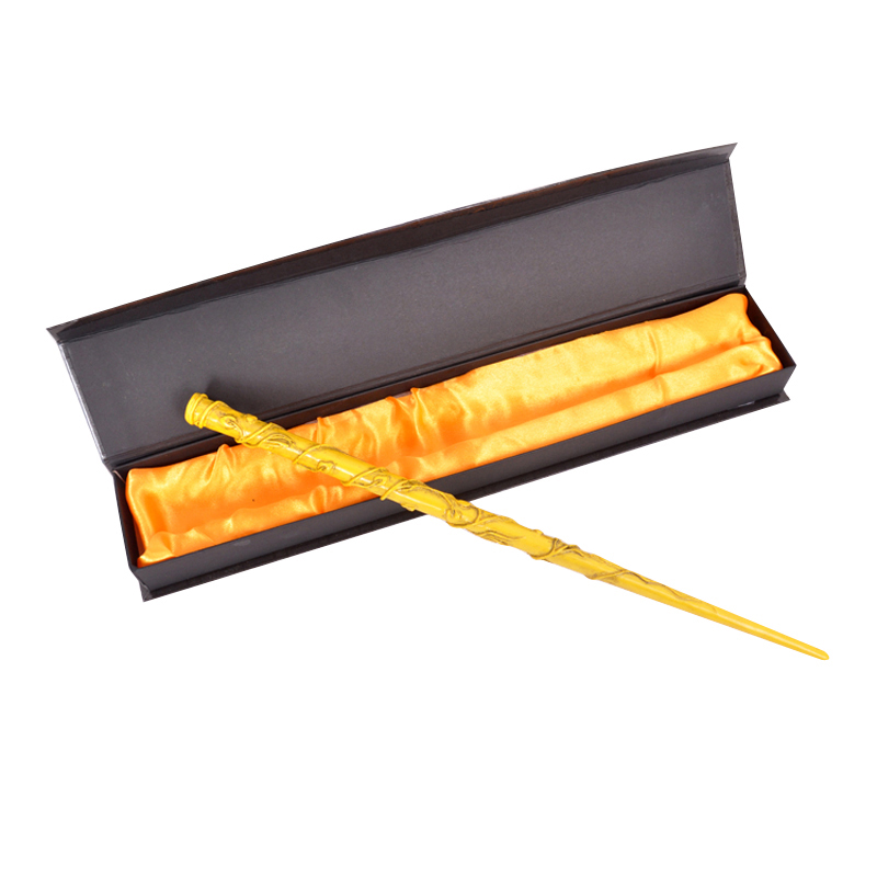 Newest Cosplay Hermione Granger Role Play Resin Magical Wand Gift In Box Magic Wands hermione jean granger cosplay costume dress for party