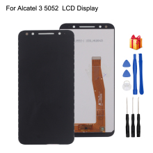 For Alcatel 3 5052 5052D 5052Y LCD Display Touch Screen Digitizer Assembly For Alcatel 3 5052 Display Screen LCD Phone Parts цена в Москве и Питере