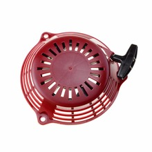 GOOFIT 3 Holes Recoil Pull Starter Assembly for Honda GCV160 Lawn mower Engine Red K071-306