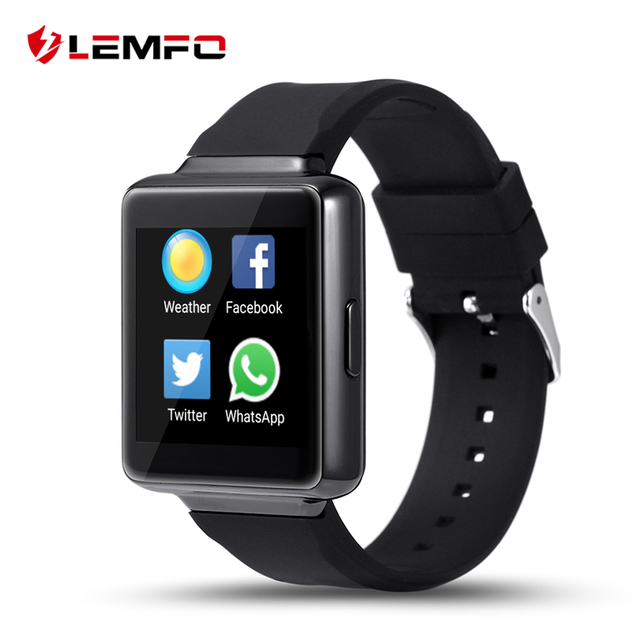 Lemfo К1 Android 5.1 OS Smart Watch Phone MTK6580 512 МБ + 8 ГБ поддержка Wifi СИМ-Карты Bluetooth GPS Smartwatch Для IOS Android OS