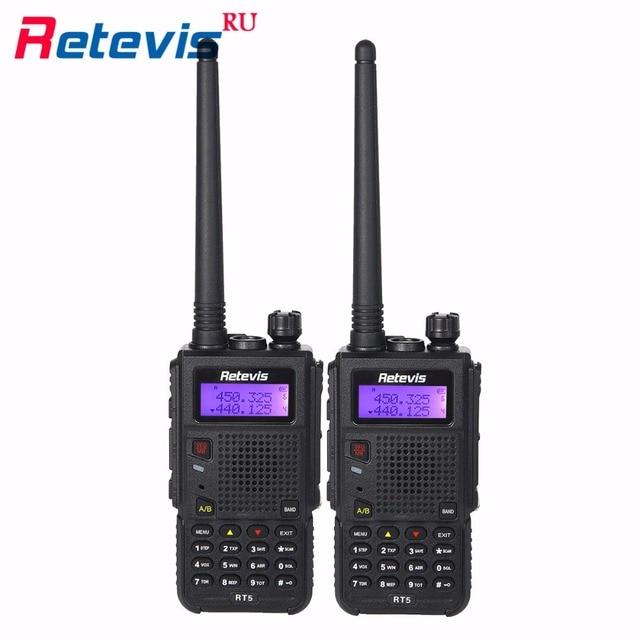 2 шт. 8 Вт Handy Walkie Talkie Retevis RT5 2500 мАч УКВ VOX FM Радио 2 Способ Радио Частота Портативный cb Радио охота
