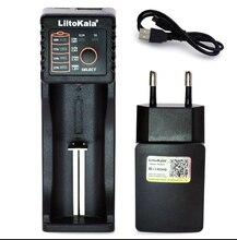 2019 Liitokala Lii402 Lii202 Lii100 18650 1.2V 3.7V 3.2V AA/AAA NiMH แบตเตอรี่ Li ION smart Charger 5V 2A EU/US/UK Plug