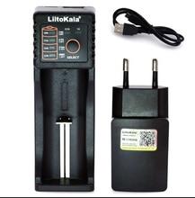 2019 Liitokala Lii402 Lii202 Lii100 18650 cargador 1,2 V 3,7 V 3,2 V AA/AAA NiMH batería de iones inteligente cargador 5V 2A US/EU/enchufe de Reino Unido