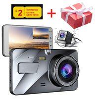 CHARONPLU DVR Dash Camera Dual Dash Cam Car Dash Camera Dash Cam 4k/Con Vision Nocturna Vehicle Blackbox DVR Car Camera Full HD