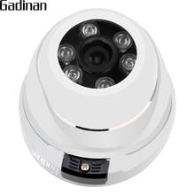 GADINAN Dome IP Camera Metal Case 3518E 1080P 2.0Megapixel Security Vandal-proof IR Cut Camera IP DC 12V or 48V PoE Optional
