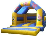 4x3m small inflatable sports bounce house
