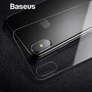 Baseus 0.3mm Back Protector For iPhone X Tempered Glass Back Cover Ultra Thin Scratch Proof Glass For iPhone X Back Film