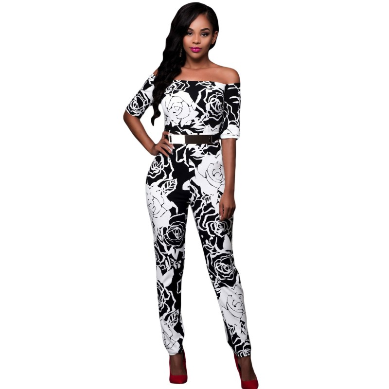 Monochrome-Rose-Print-Belted-Off-Shoulder-Jumpsuit-LC64179-4-2_conew1