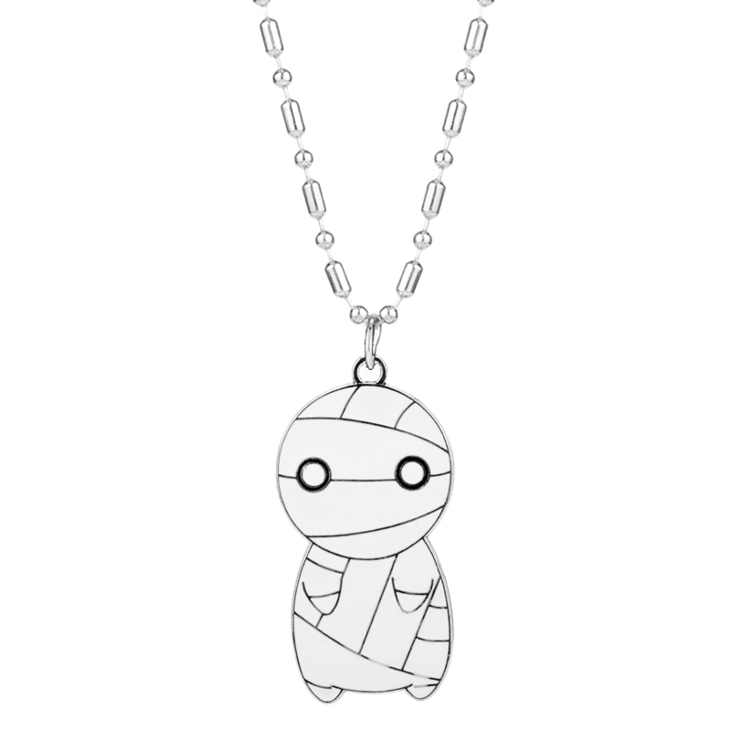 Closeout Dongsheng Kawaii Big Eyes Mini Mummy Necklaces How To Keep