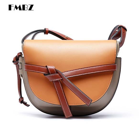 Leather women bag new color mixed leather fashion ladies Messenger bag Brand casual leather woman shoulder bag free shipping free shipping fashion multi color computer riding wave leisure shoulder messenger bag