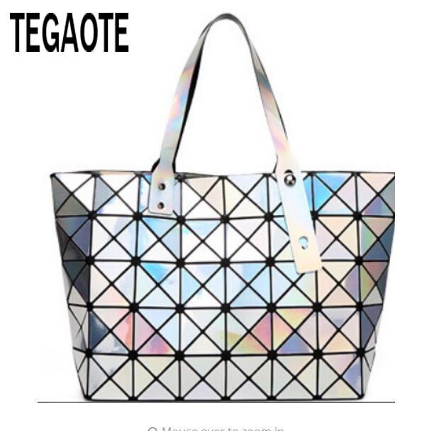 Prix pour 2017 Nouveau BAOBAO femmes perle sac Diamant Treillis Fourre-Tout géométrie Matelassé épaule sac sac sacs sacs à main femmes célèbres baobao sac