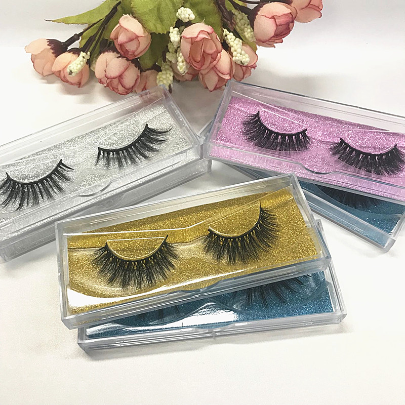 Seashine Eyelashes Hand Made Faux Mink Lashes Private Label Acceptable Sexy Natural Full Strip Eyelash Free Shipping