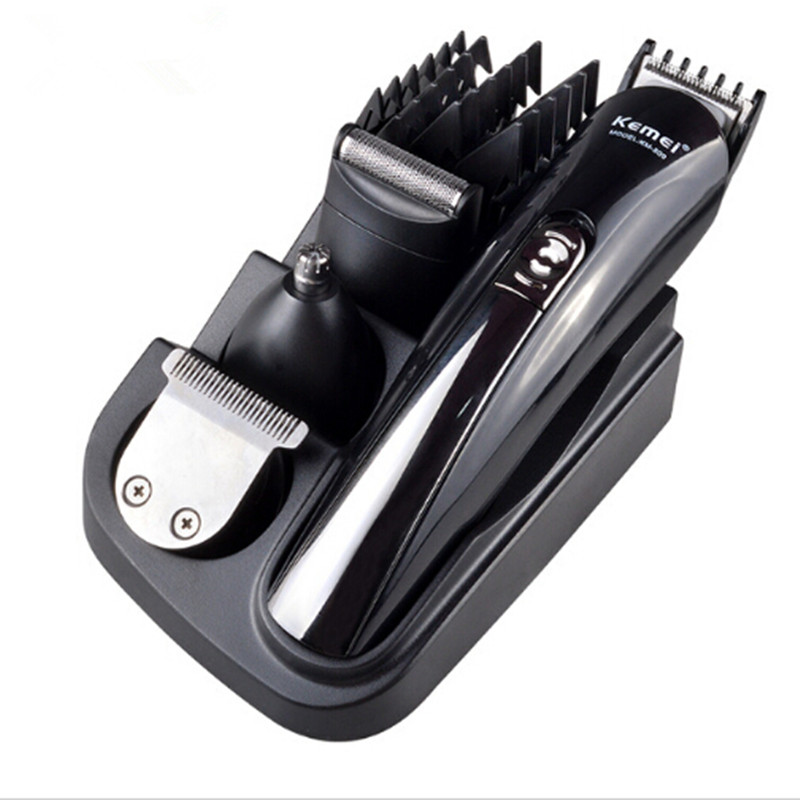 4 in 1 Multifunction Hair Trimmer Men Electric Hair Clipper Rechargeable Electric Shaver Adjustable Styling Tools rechargeable hair clipper with accessories set 220 240v ac