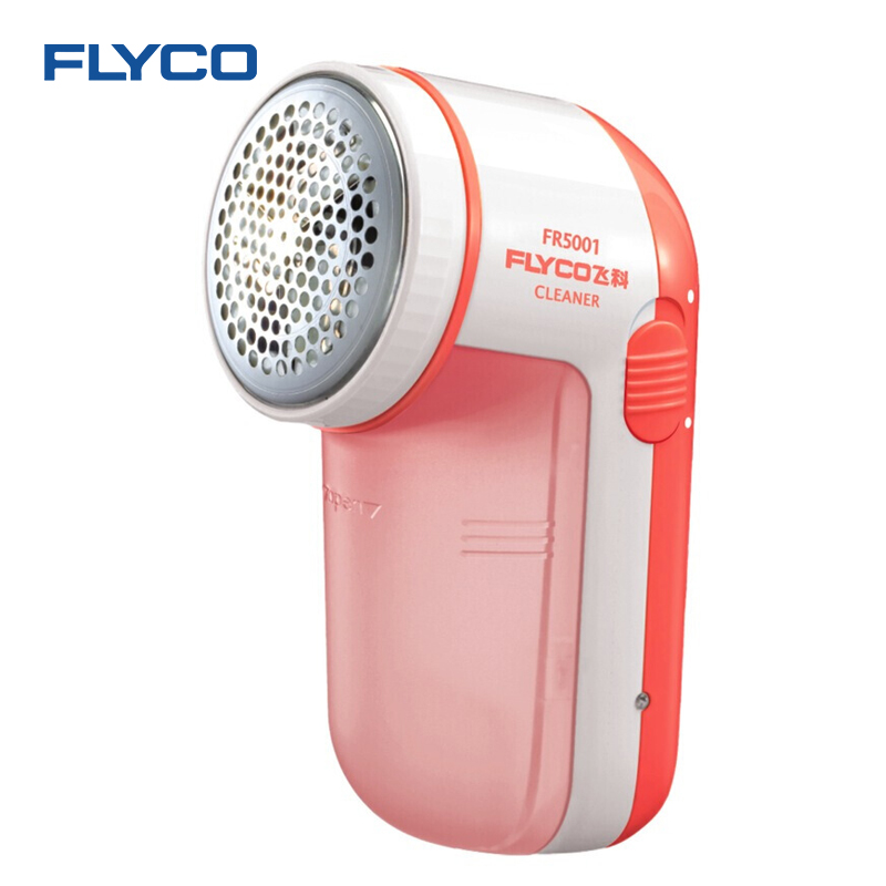 Flyco Lint Remover FR5001 Fabric Fuzz Remover Sweater Clothes Shaver Pill Lint Save Trimmer Fur Ball Lint Remover rechargeable sweater fabric clothes shaver fuzz pill lint remover pink white 220v
